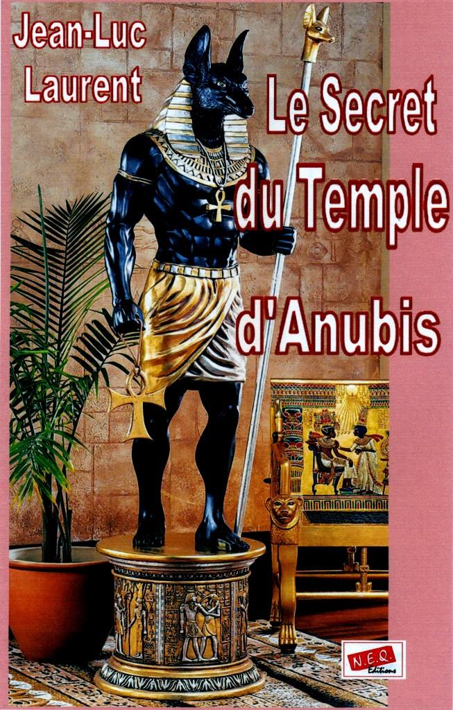 Le secret du temple d'Anubis precouverture